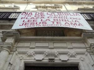 Día de la Biblia en Sanlúcar