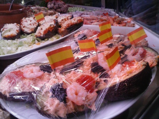 Bar Taberna Juan Sanlúcar banderas de España (4)