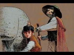 Lázaro y el toro
