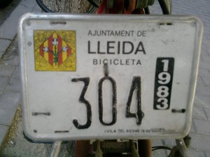 Bicicletas matriculadas (años 60) (4)