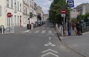 Dirección prohibida Sauf velo (Vincennes)