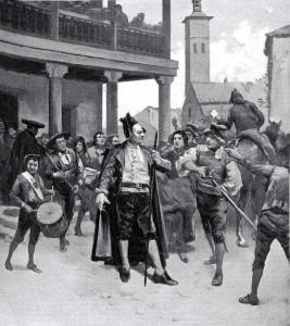 El alcalde de Móstoles declara la patria en peligro, 2 de mayo de 1808