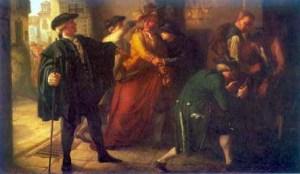 El motín de Esquilache, óleo de José Martí y Monsó