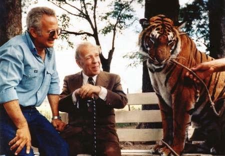 Borges en el zoológico de Cuttini. Fundación Internacional J. L. Borges (1)