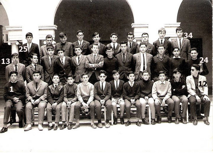 Guillermo Palomo Blanco en el colegio