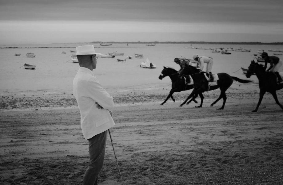 daniel-lebrato-en-las-carreras-agosto-2016-blanco-y-negro