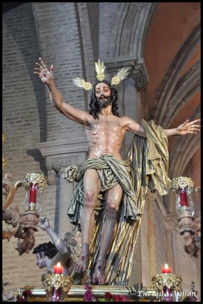 Hermandad de la Resurrección 2014 Semana Santa de Sevilla Santa Marina Resucitado Virgen de la Aurora Buiza Dubé de Luque (3) página pasión en la distancia