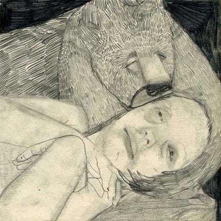 La bella y la bestia, ilustración (c) Maya Bloch