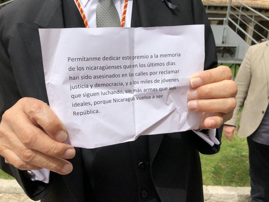 Sergio Ramírez ortografía