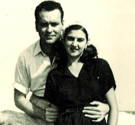 1950 Pepita y Francisco en Cóbreces
