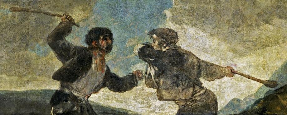 Goya a palos
