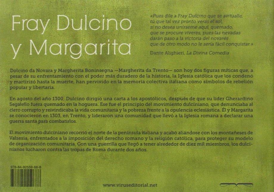 Dulcino y Margarita breve resumen