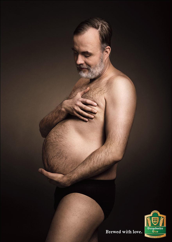 hombres embarazados