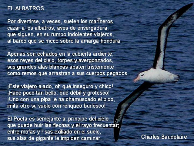 baudelaire albatros en Ítaca