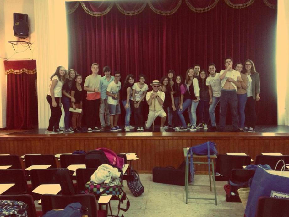 Última clase Jubilación de Daniel Lebrato 02·10·14