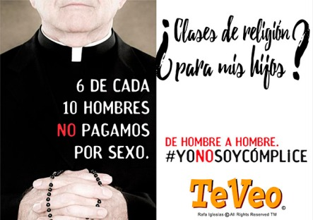 campaña yo no soy cómplice según TeVeo