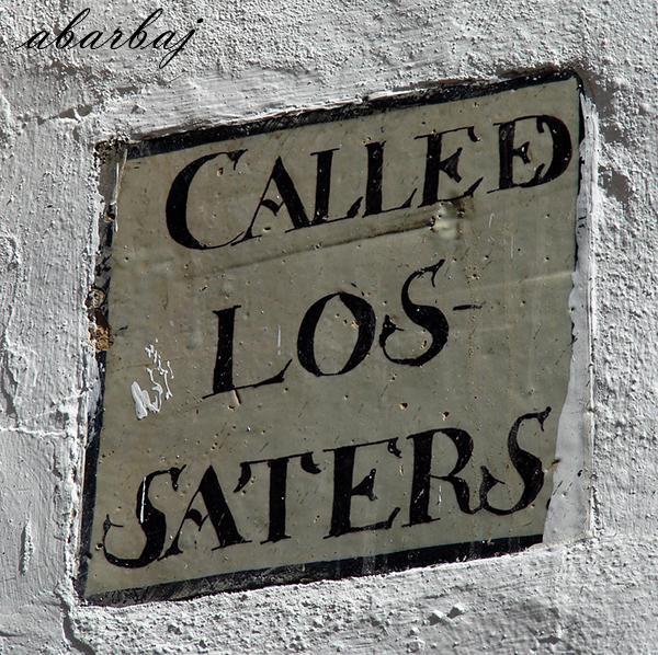 Callejon de los Saters Sanlucar rotulo 01.jpg