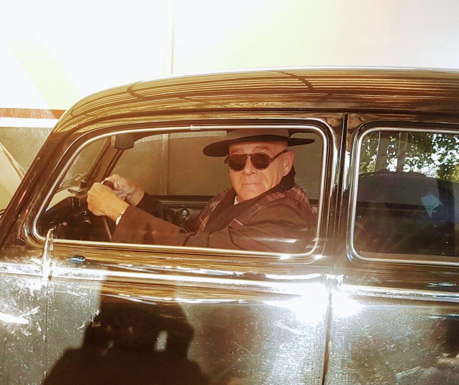 Daniel Lebrato en Ford antiguo