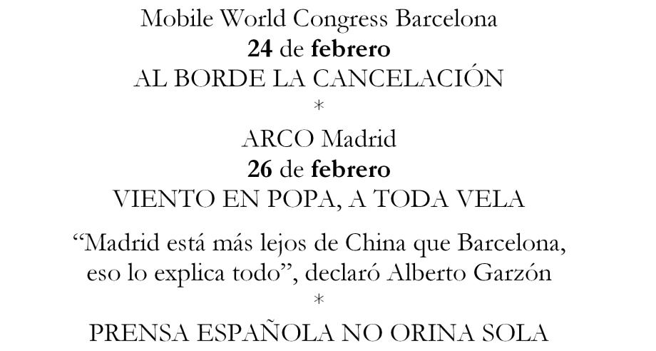 ARCO Y MWC