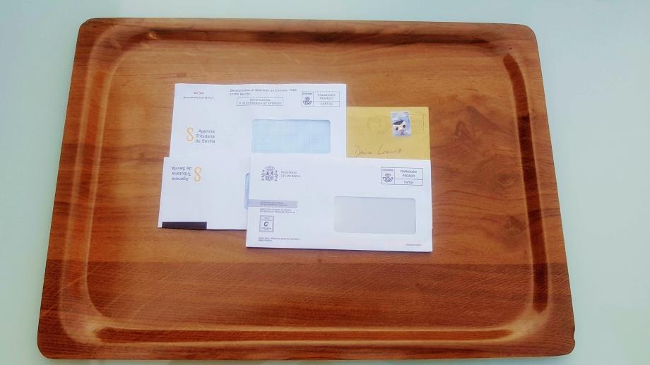 carta humana bandeja de entrada