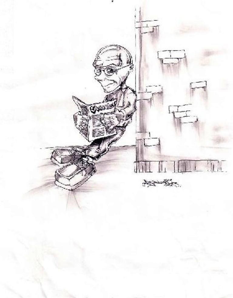 2004. Daniel Lebrato por su alumno Alex Olguín de Ico Estilo Urbano 2004