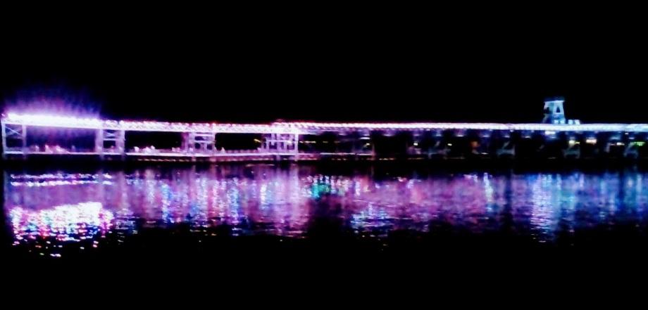 Ría de Huelva noche foto Manolo Vara